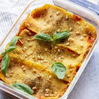 Vegan Zucchini Lasagna with Cashew Cheese