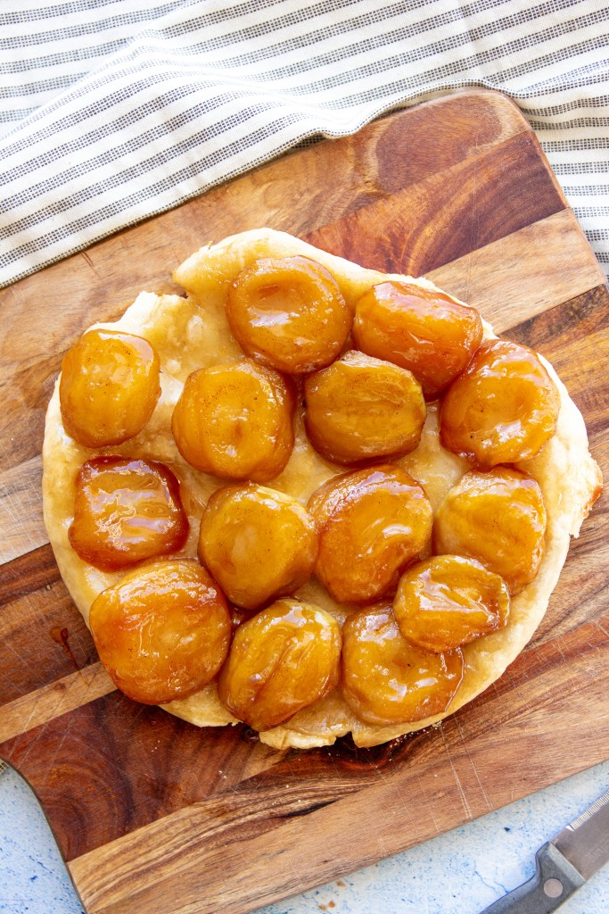 vegan tart tatin recipe