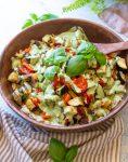 roasted vegetable orzo pasta salad