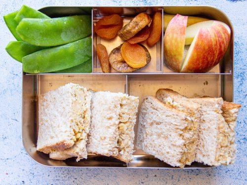vegan lunch box ideas for school