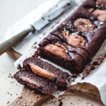 Hazelnut & Pear Chocolate Brownie with Black beans | Healthy Goodies by Lucia