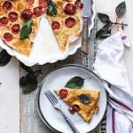 Tomato Farinata - gluten-free and Vega recipe | Healthy Goodies by Lucia
