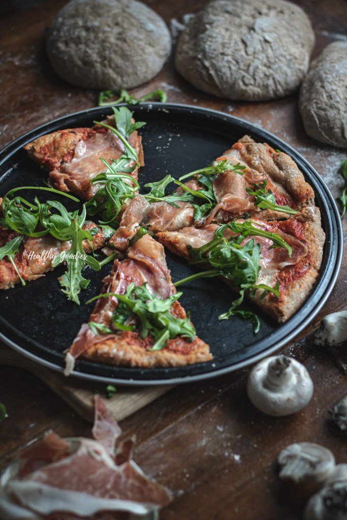 whole wheat Spelt pizza | Healthy Goodies by Lucia Marecak