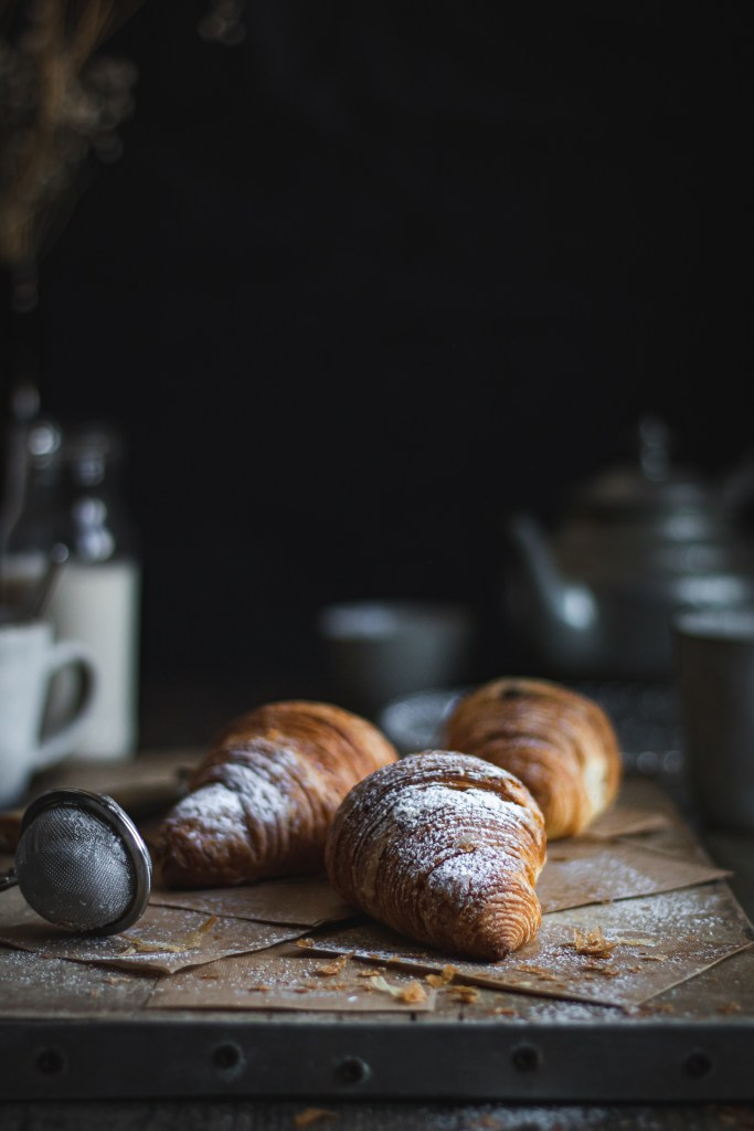 Croissants - Food Photography challenge - Healthy Goodies by Lucia Marecak