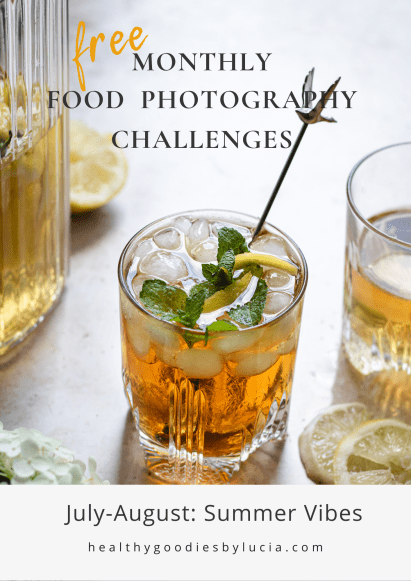Summer Vibes Instagram Food Photography Challenge - Healthy Goodies by Lucia Marecak