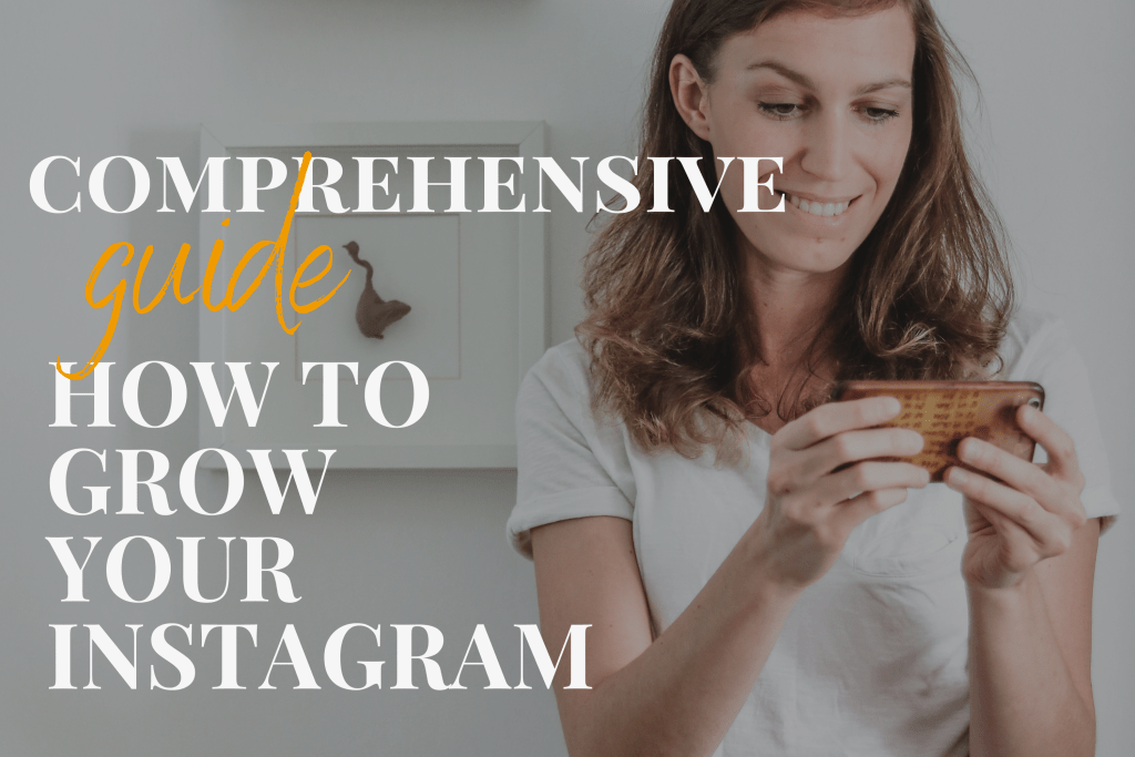 how to grow your Instagram - Healthy Goodies by Lucia