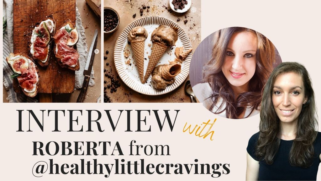 Food Magazine Cover Newsletter & Interview with Roberta - Healthy Little Cravings - Healthy Goodies by Lucia