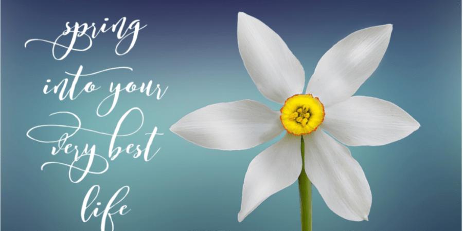 Spring flower mantra