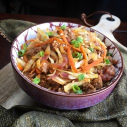Keto Krazy Egg Roll In A Bowl