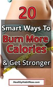 burn more calories lose weight