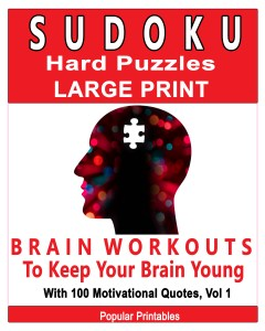 Sudoku Hard Puzzles Large Print