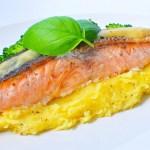 Salmon Fillet on the Mash
