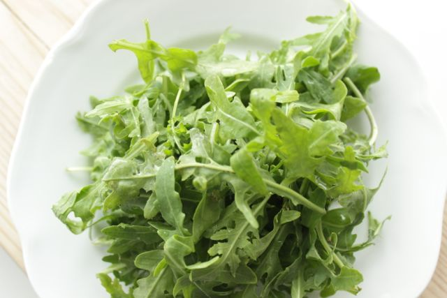 arugula - healthy but be careful - www.healthyhappysteffi.com