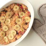 Porridge aus dem Ofen