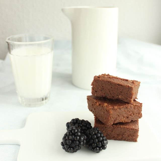 Sweetpotato brownies after the recipe of deliciouslyella