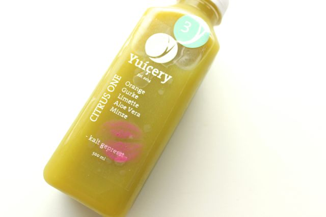 Juice Cleanse Day 3 - my favourite juice - www.healthyhappysteffi.com