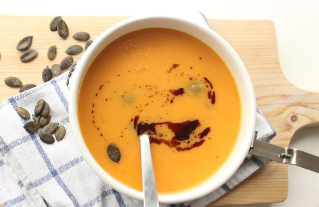 sweetpotato-carrot-soup - www.healthyhappysteffi.com