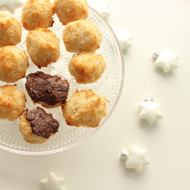 Kokosmakronen - zuckerfrei, glutenfrei und vegan - www.healthyhappysteffi.com
