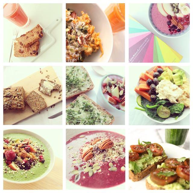 HealthyHappySteffi auf Instagram im Januar