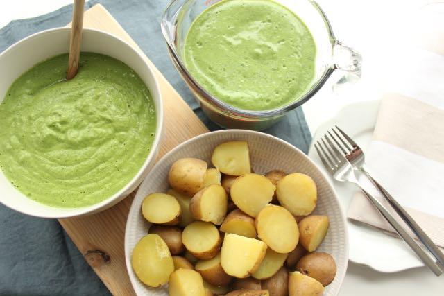 Frankfurter Grüne Soße vegan - www.healthyhappysteffi.com