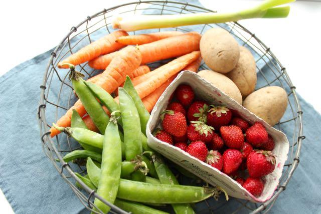 Saisonales Obst und Gemüse im Juni - www.healthyhappysteffi.com