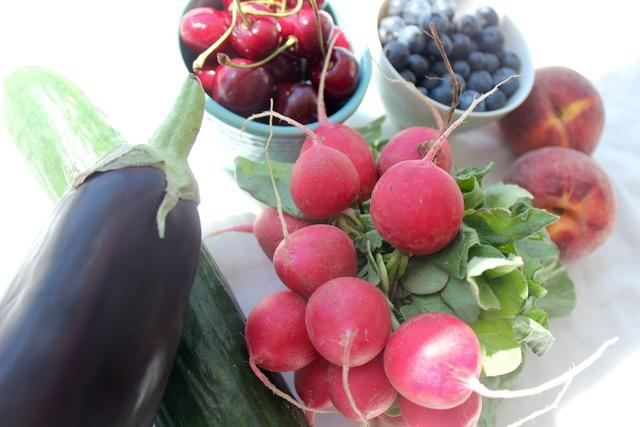 Saisonales Obst und Gemüse im Juli - www.healthyhappysteffi.com
