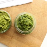 Zweierlei Grünkohl-Pesto