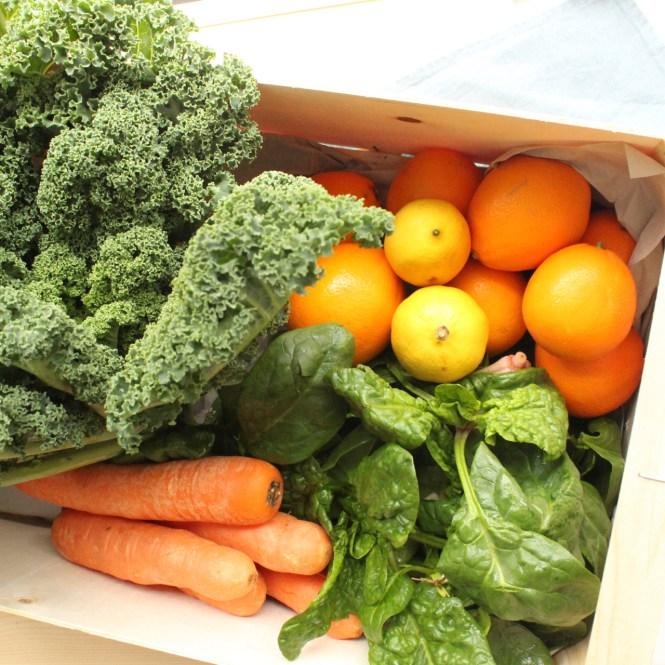 Saisonales Gemüse im Februar
