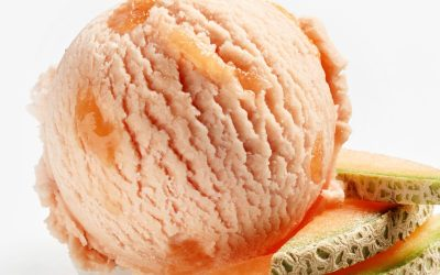 Two-Ingredient Cantaloupe Ice Cream