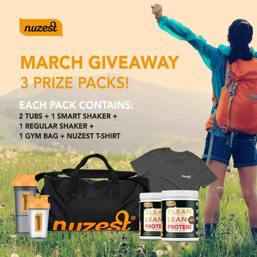 Nuzest March Giveaway | Healthy Helper @Healthy_Helper