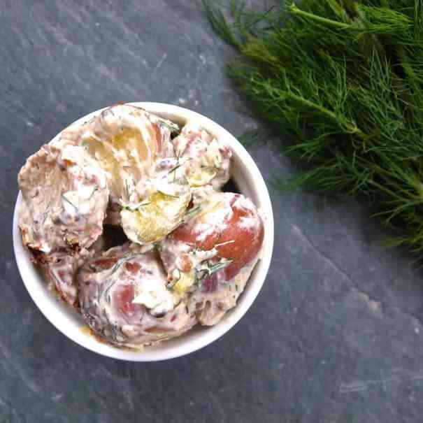 High Protein Potato Salad | Healthy Helper @Healthy_Helper