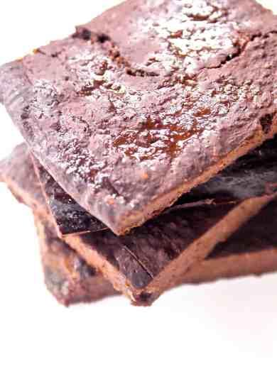 Flourless Brownie Thins