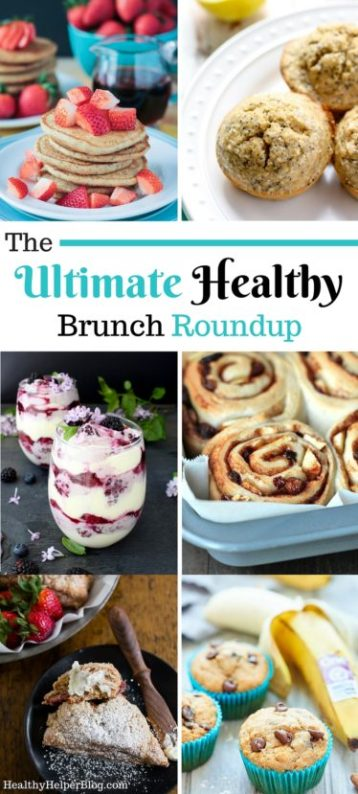 The Ultimate Healthy Brunch Recipe Roundup from Healthy Helper....healthy, delicious dishes and treats that your whole brunch crowd will love! Gluten-free, vegan, and paleo options for all! http://healthyhelperblog.com?utm_source=utm_source%3DPinterest&utm_medium=utm_medium%3Dsocialmedia&utm_campaign=utm_campaign%3Dblogpost