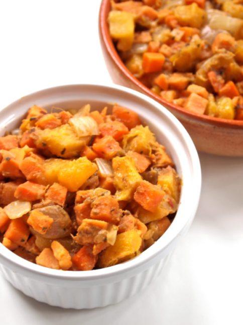 Fresh n' Fruity Sweet Potato Salad
