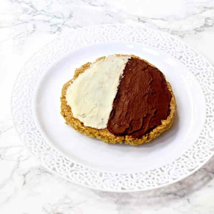Copycat Starbucks Black & White Cookie | Healthy Helper @Healthy_Helper