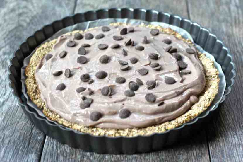 Low-Fat Vegan Pudding Pie Tart   Healthy Helper @Healthy_Helper