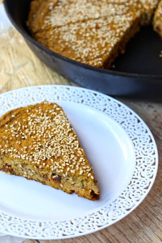 Savory Sweet Potato Pan Bread  | Healthy Helper @Healthy_Helper
