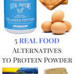 5 REAL FOOD Alternatives to Protein Powder After a Workout