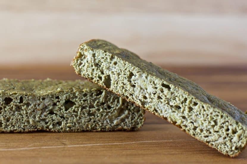 Vanilla Matcha Banana Bread Bars   Healthy Helper @Healthy_Helper