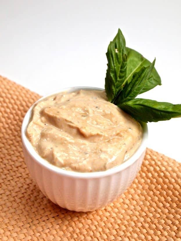 Thai Basil Peanut Dip | Healthy Helper @Healthy_Helper