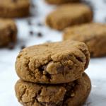 High Fiber Chocolate Chip Cookies [vegan + gluten-free]