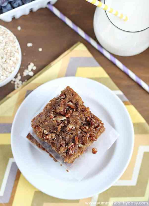 Oatmeal Coffee Cake | Healthy Helper @Healthy_Helper