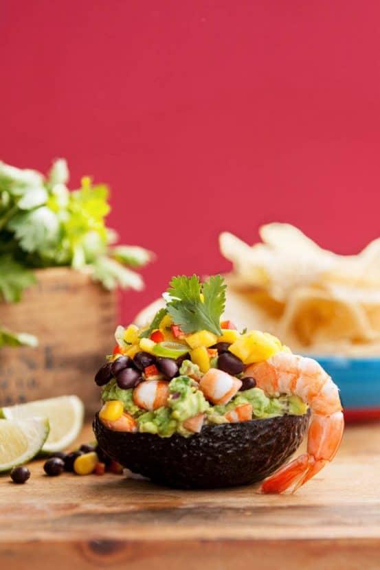Gluten-Free Shrimp Taco Dip | Healthy Helper @Healthy_Helper
