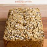 Savory Banana Flour Breakfast Bread [gluten-free + paleo]