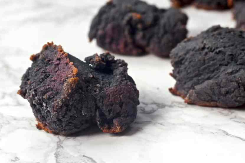 Purple Sweet Potato Biscuits   Healthy Helper @Healthy_Helper