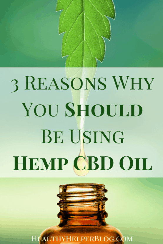 3 Reasons Why You Should Be Using Hemp CBD Oil | Healthy Helper @Healthy_Helper Three important reasons why you should be incorporating Hemp CBD oil into your daily healthy living routine. Unlike, THC, CBD is non-psychoactive. CBD and THC are completely different and CBD has amazing health mind and body benefits if ingested routinely.