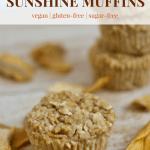 Lemon Mango Sunshine Muffins [vegan + gluten-free]