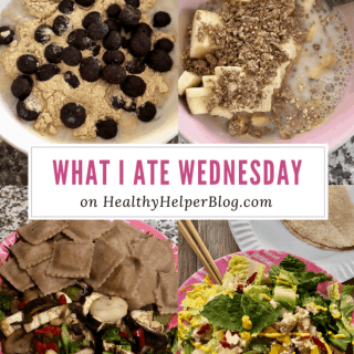 WIAW: On a Meal Plan | Healthy Helper @Healthy_Helper An example day of eats on my new meal plan as I work with a Registered Dietician to take back my health & happiness!