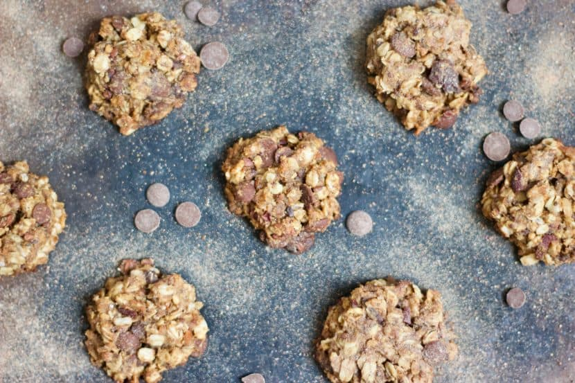 Vegan Lactation Cookies | Healthy Helper @Healthy_Helper Healthy, wholesome lactation cookies filled with nutrient dense foods like nuts, peanut butter, dried fruit, flaxseed, chia seeds, and Brewer's yeast. Vegan, gluten-free, and super easy to make! They are moist, yummy and they help boost and/or maintain milk supply.