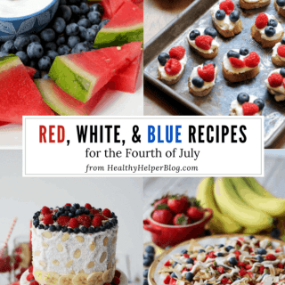 The Ultimate Red, White, & Blue Recipe Roundup for the Fourth of July | Healthy Helper The ultimate patriotic recipe roundup for the Fourth of July! Celebrate our nation with this list of red, white, and blue recipes from around the web. All healthy, delicious, and incredibly festive!